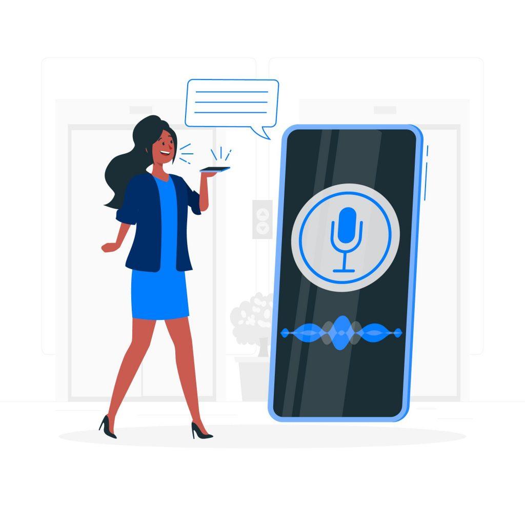 asistente de voz